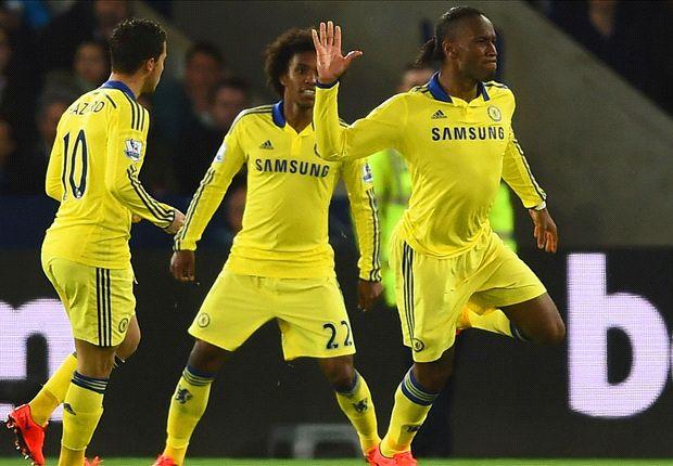 Leicester 1-3 Chelsea: Sufrida victoria del líder