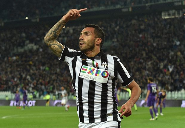 Juventus 3-2 Fiorentina: Terrific Tevez puts Bianconeri on the verge of Serie A title