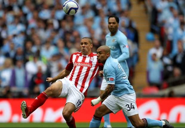 Manchester City's Nigel de Jong blames FA Cup celebrations for poor start against Stoke