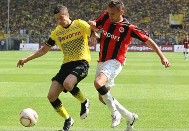 Borussia Dortmund 3-1 Eintracht Frankfurt: Barrios brace relegates Frankfurt