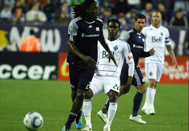New England Revolution 1-0 Vancouver Whitecaps FC: Joseph penalty gives Revs the win against Vancouver