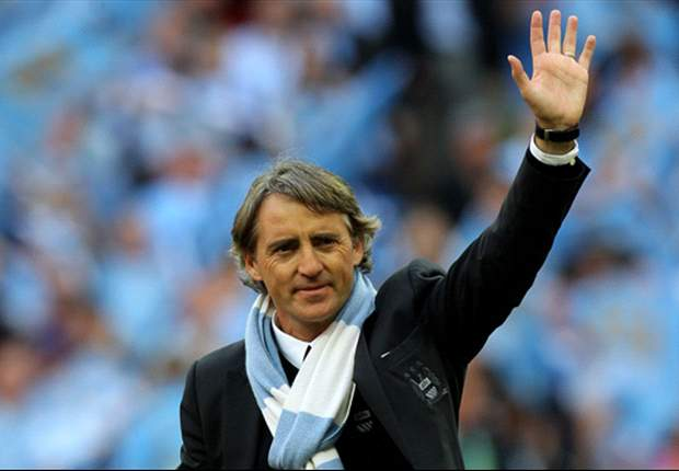 'Next season we want to try and win the title' - Manchester City boss Roberto Mancini fires warning shot to United