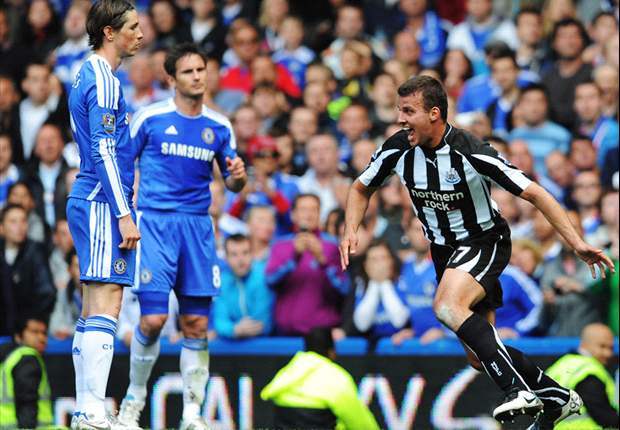 Chelsea 2-2 Newcastle: Stoppage time Steven Taylor header denies Blues as Ancelotti's side miss chance to all but seal second spot