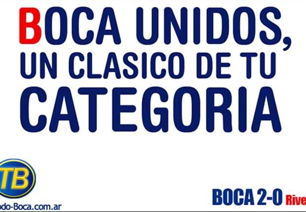 Especial Boca-River: Las mejores bromas gráficas. ¡Imperdible!