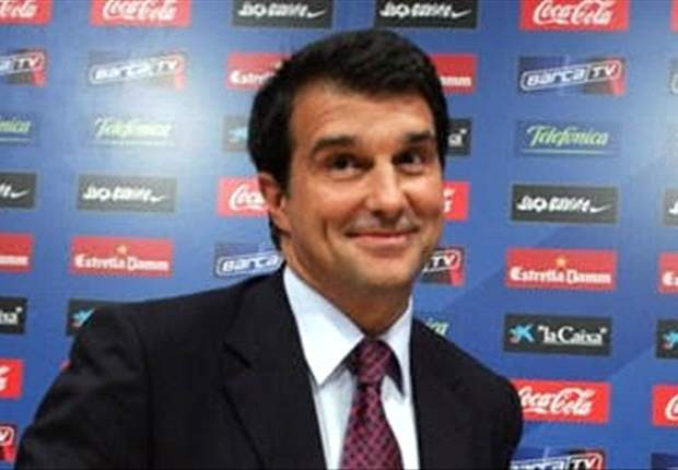 Barcelona's Joan Laporta Lauds High Morale And Responds To Sevilla's Del Nido