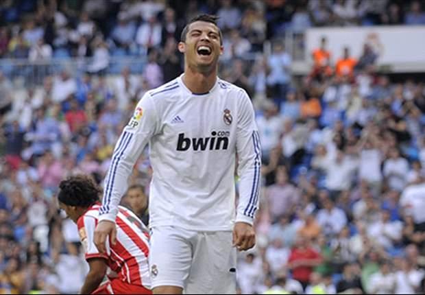 Liga BBVA: El Real Madrid arma una fiesta en torno a la Leyenda de Cristiano (8-1)