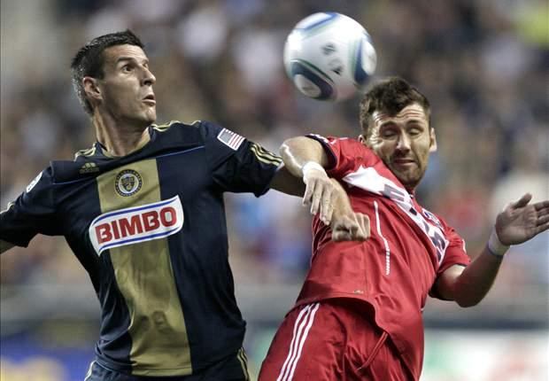 Philadelphia Union 2-1 Chicago Fire: Ruiz hits stunner in Union win