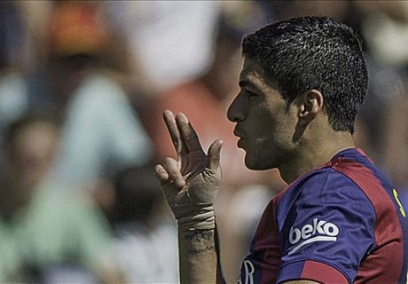 Hat-trick hero Suarez: Watch out Bayern!