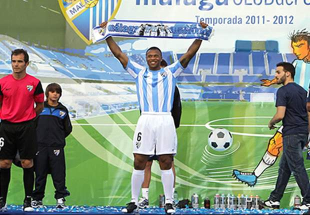 El brasilero Julio Baptista vuelve al trabajo en grupo con el Málaga