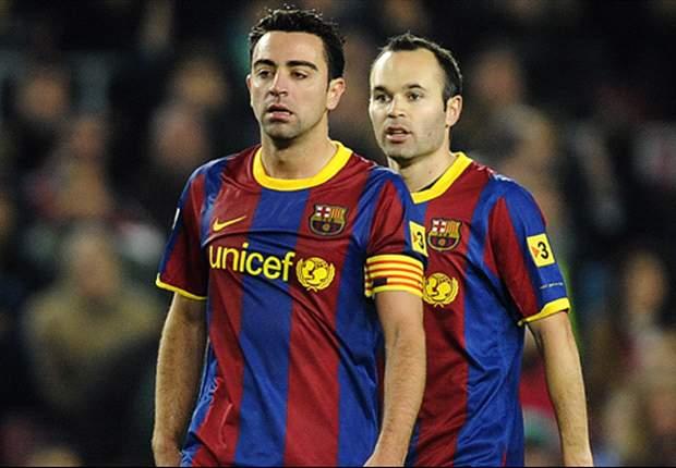 Barcelona's Cesc Fabregas & Andres Iniesta are phenomenons - Xavi