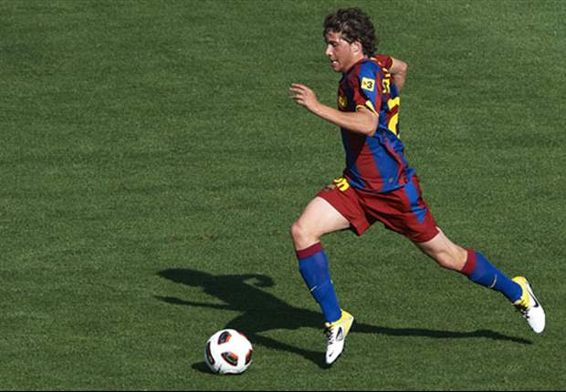 Vilanova: Sergi Roberto is one for the future