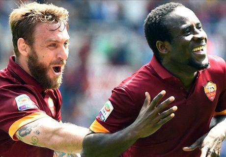 Roma go second with Genoa win