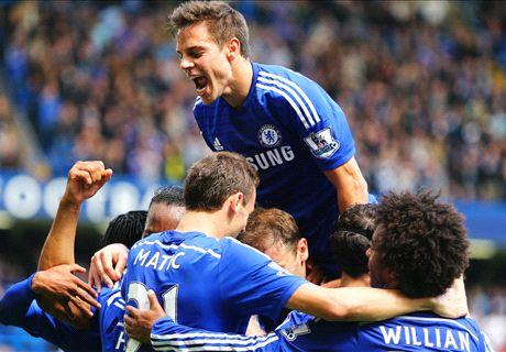 Chelsea win Premier League title - LIVE