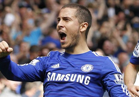 Hazard fires Chelsea to the title