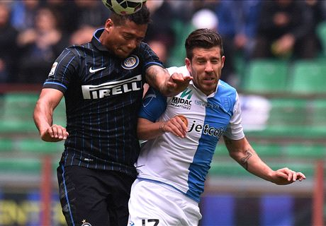 Inter thwarted by Chievo