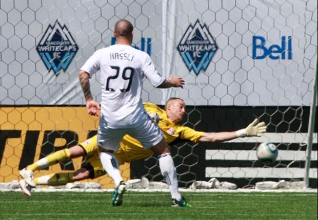 Vancouver Whitecaps 1-1 New York Red Bulls: Rodgers cancels out Hassli's opener