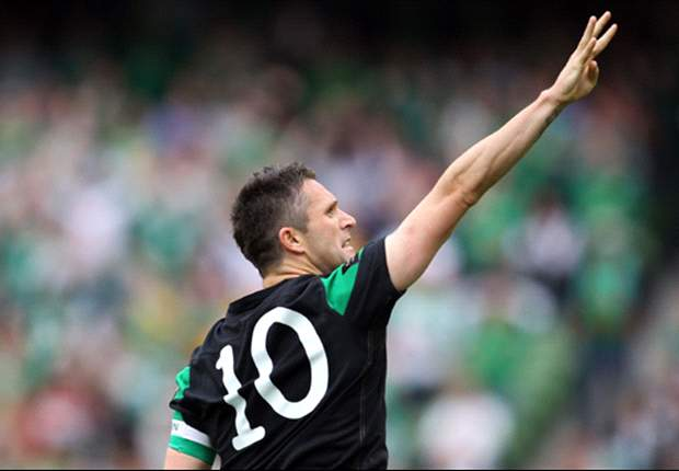 Robbie Keane 'very pleased' to equal Sir Bobby Charlton's record after scoring 49th international goal for Republic of Ireland against Scotland