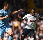 LIVE: Tottenham 0-1 Man City