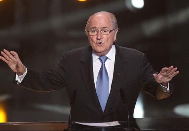 OFFICIAL: Fifa president Sepp Blatter stands unopposed & is re-elected for a fourth term until 2015