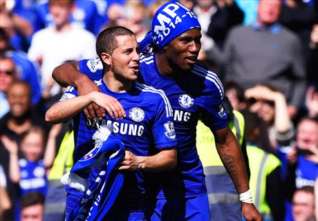Hazard seals EPL title for Chelsea