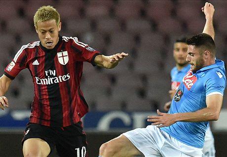 LIVE: Napoli 3-0 AC Milan