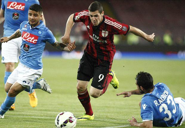 Napoli 3-0 AC Milan: Partenopei blitz 10-man Rossoneri