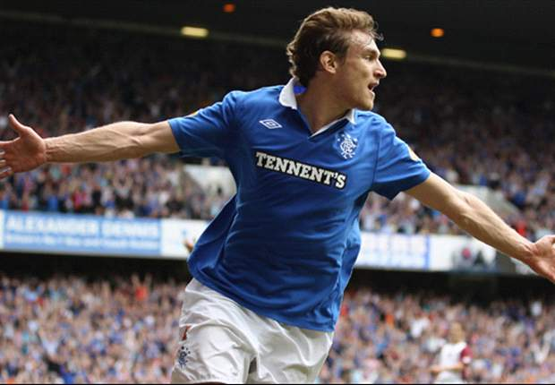 Everton agree fee with Rangers for Nikica Jelavic