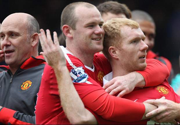 'Paul Scholes is the best I've played with and against' - Manchester United striker Wayne Rooney