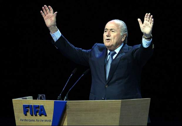 'He will selflessly serve football' - Russia prime minister Vladimir Putin congratulates Sepp Blatter on Fifa re-election