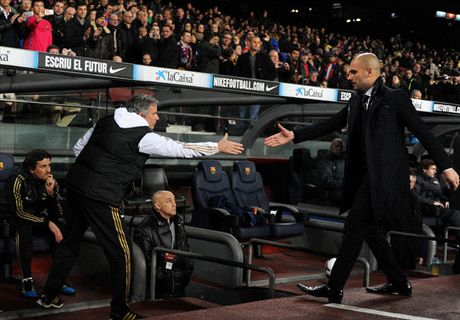 Mourinho can't resist Guardiola dig