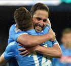 Hamsik & Higuain maul 10-man Milan