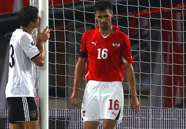 Austria 1-2 Germany: Mario Gomez brace maintains 100% record in Euro 2012 qualifying