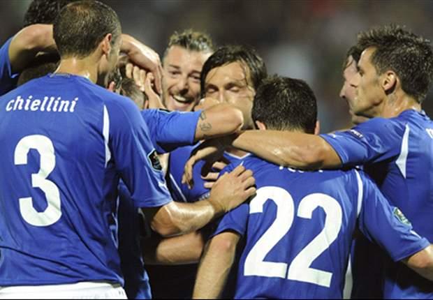 Italien mit Achtungserfolg gegen den Weltmeister
