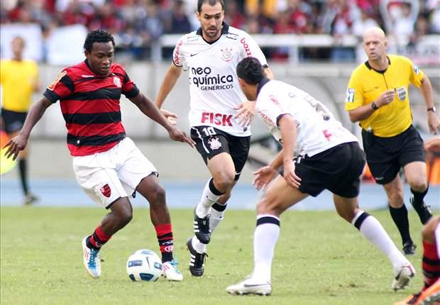 Corinthians e Flamengo empatam em amistoso