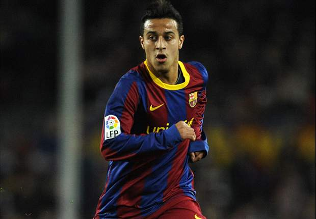 Real Madrid asked about Barcelona's Thiago Alcantara - father