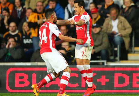 Gunners Take Care Of Hull