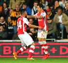Noten: Ramsey & Sanchez knacken Hull