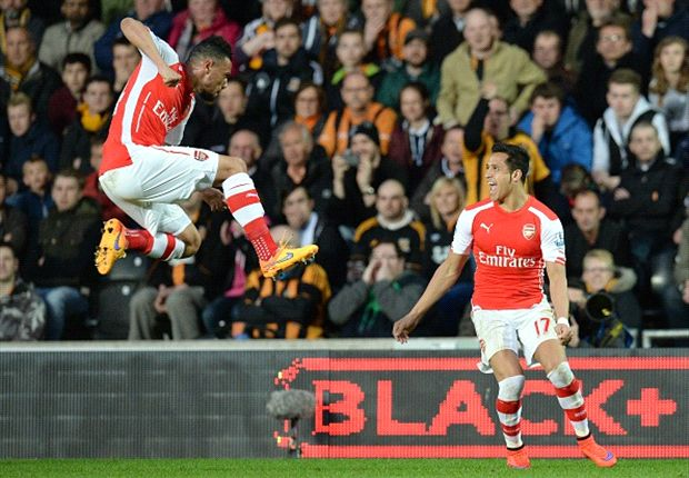 Hull City 1-3 Arsenal: Alexis and Ramsey tame sorry Tigers