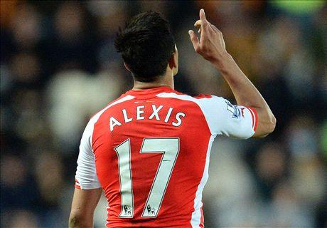 Arsenal wint met speels gemak van Hull