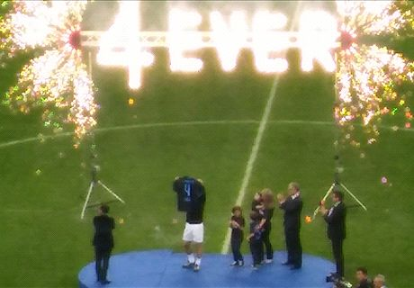 Homenaje eterno a Zanetti
