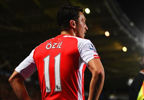 Wilshere: I look up to Ozil