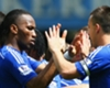 Chelsea team-mates John Terry and Didier Drogba