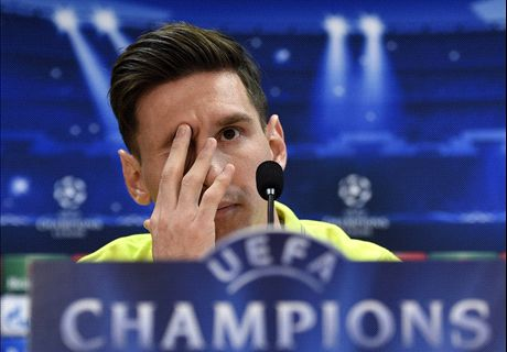 I have no relationship with Pep - Messi