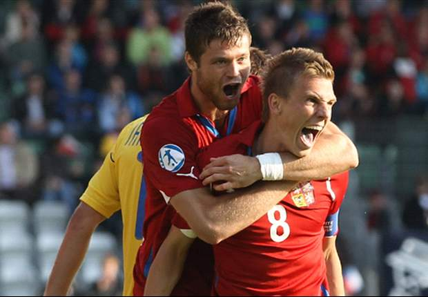 Czech Republic U-21s 2-1 Ukraine U-21s: Captain Dockal provides Czechs with a vital victory in European Championships