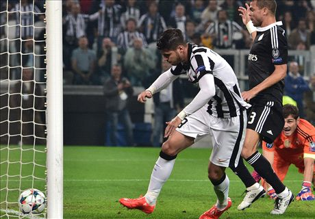 LIVE: Juventus 2-1 Real Madrid