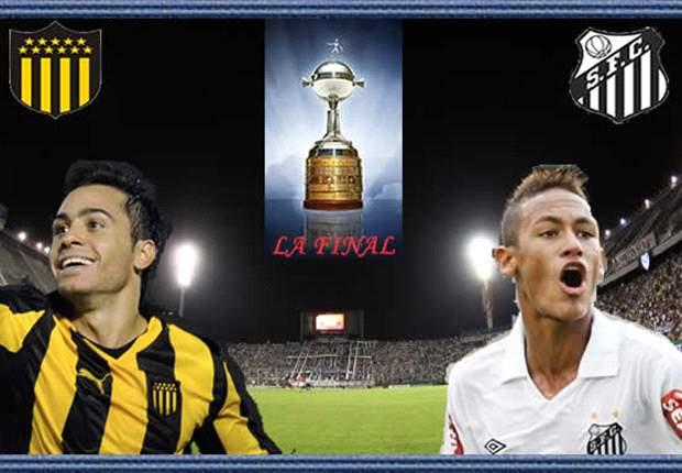 Santos Tahan Penarol Di Final Leg Pertama Copa Libertadores