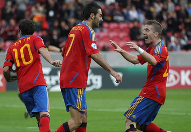 Ukraine U21 0-3 Spain U21: Adrian & Mata Set Up Belarus Date In Semi-Finals