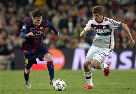 LIVE: Barcelona 3-0 Bayern Munich