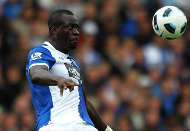 Blackburn manager Steve Kean says Christopher Samba is going nowhere