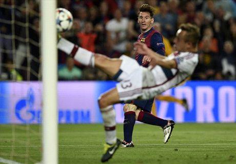 Messi staat na rust op tegen Bayern